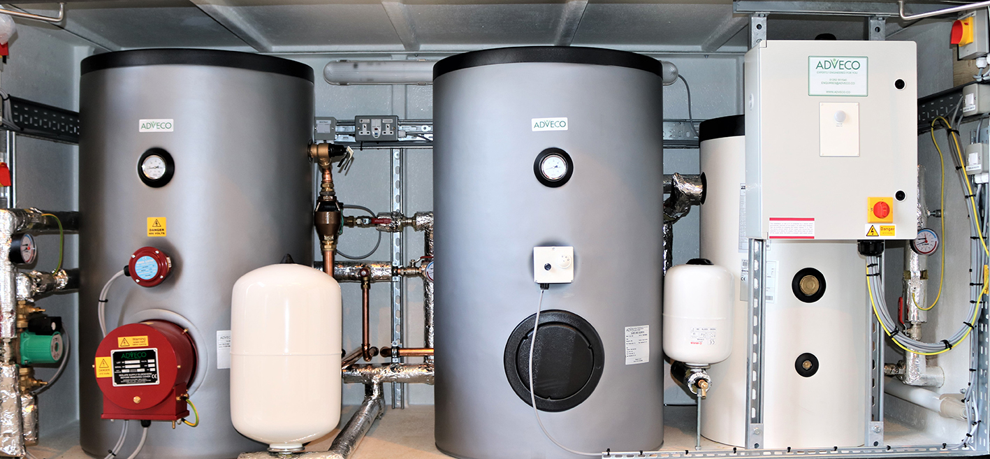 Adveco Packaged E-Hot Water System