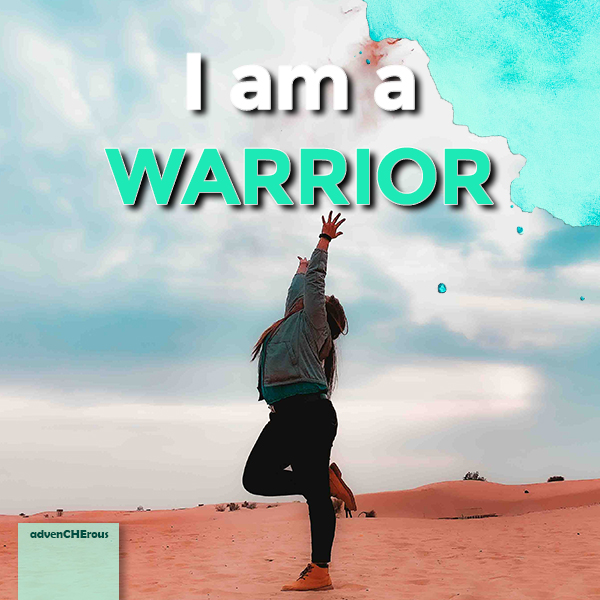 I am a Warrior style=