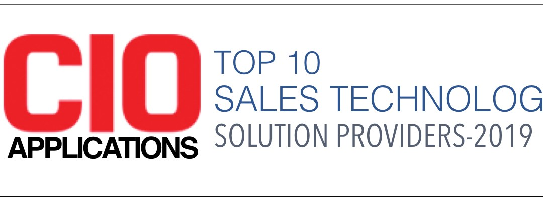 Top 10 Sales Technology Solution Providers 2019