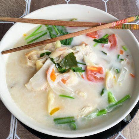 Riz frit ou fried rice : Recette Thaïlandaise