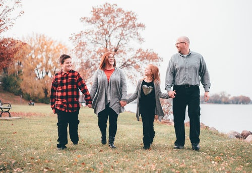 family walking and talking therapy | Family Counseling | Family Therapy Services | Canton, GA