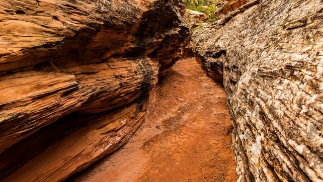 Flume Creek Canyon