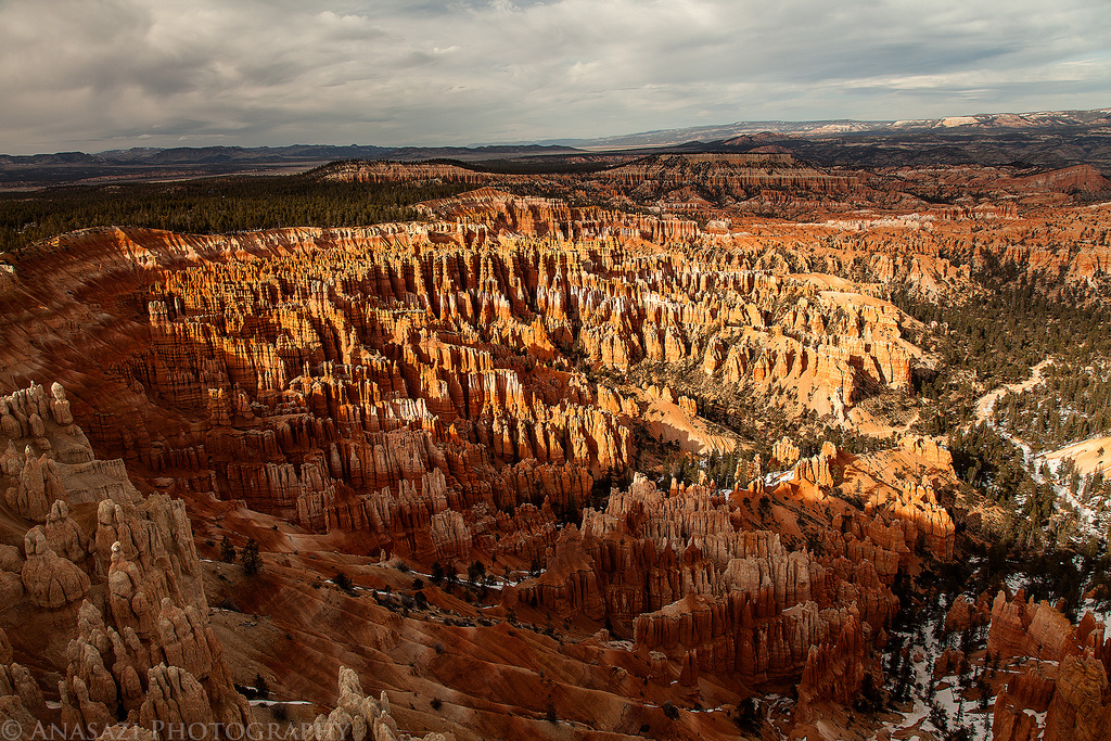 An Evening at Bryce Canyon National Park