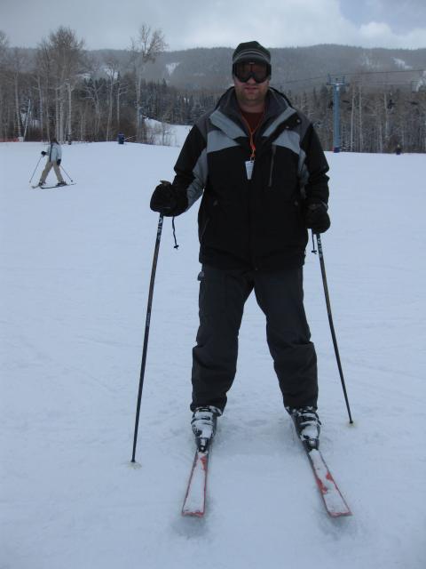 Skiing Powderhorn