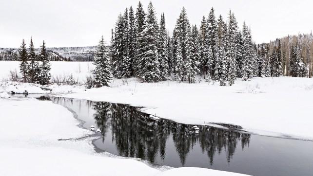 Mesa Lakes Snowshoeing