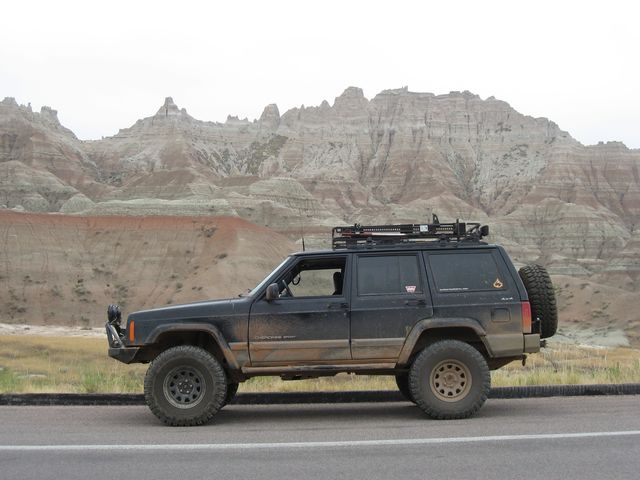 A Drive Through Badlands National Park