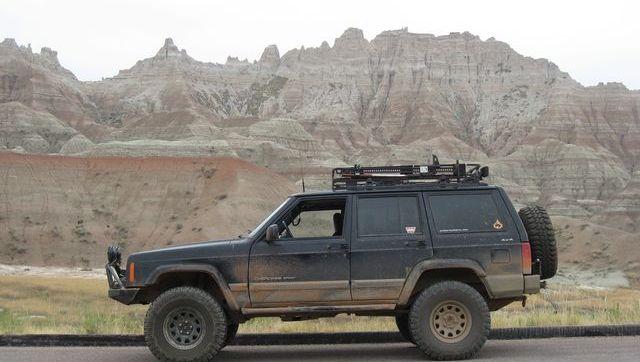 A Drive Through Badlands National Park