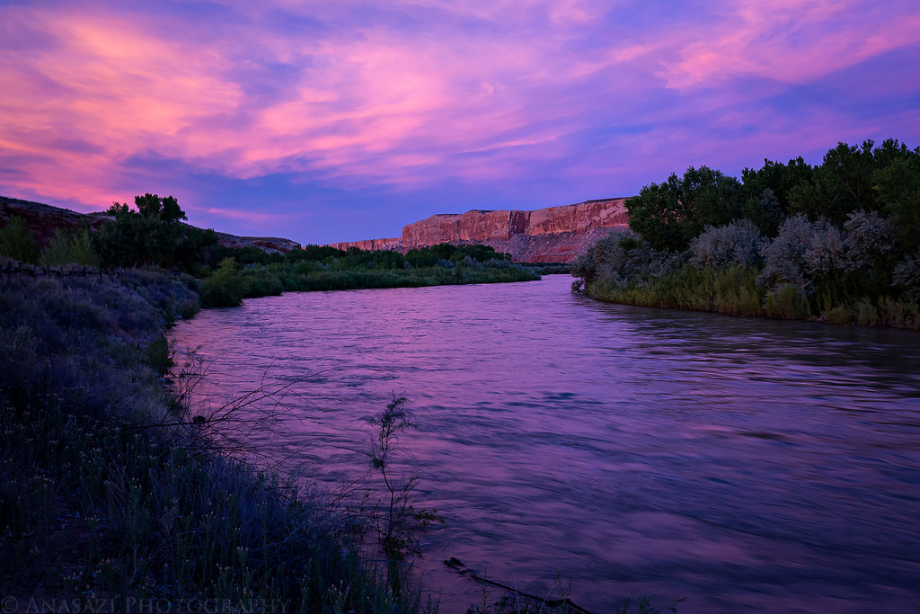 The Upper San Juan River