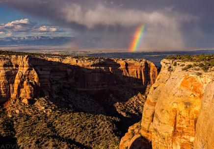 Red Canyon Rainbow