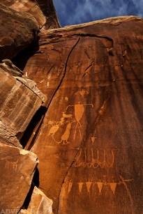 Shay Canyon Petroglyphs