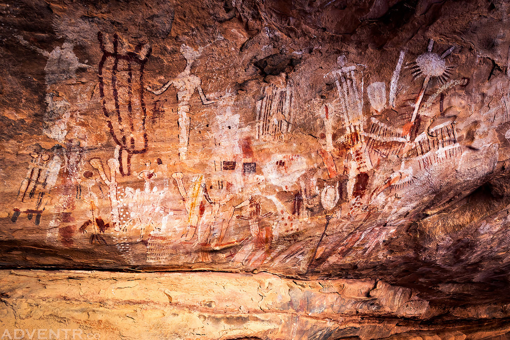 Grand Canyon Polychrome Pictographs