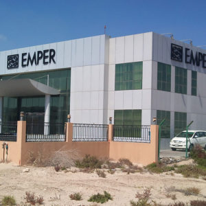 Emper 1 - Location - Technopark, Dubai