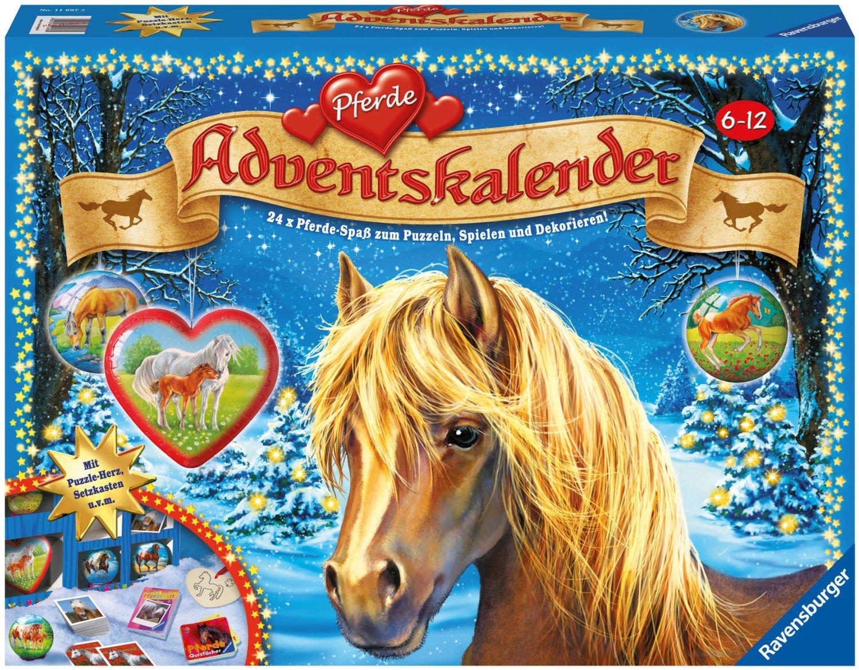 Pferde Weihnachtskalender.Ravensburger Adventskalender Pferde 2012 Adventskalender Und