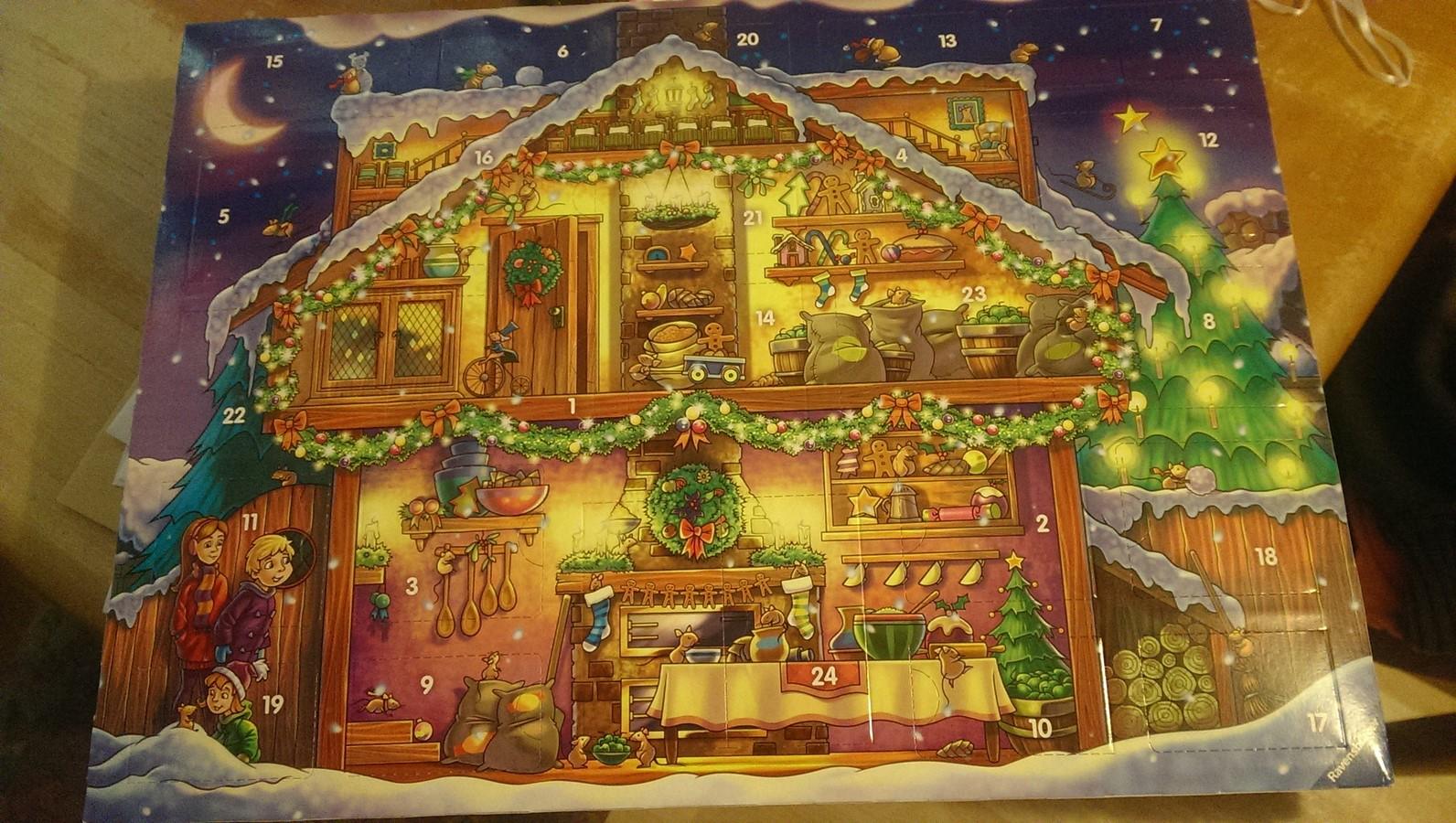 Weihnachtskalender Tiptoi.Ravensburger Tiptoi Adventskalender 2015 In Der