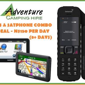 GPS AND SATPHONE COMBO