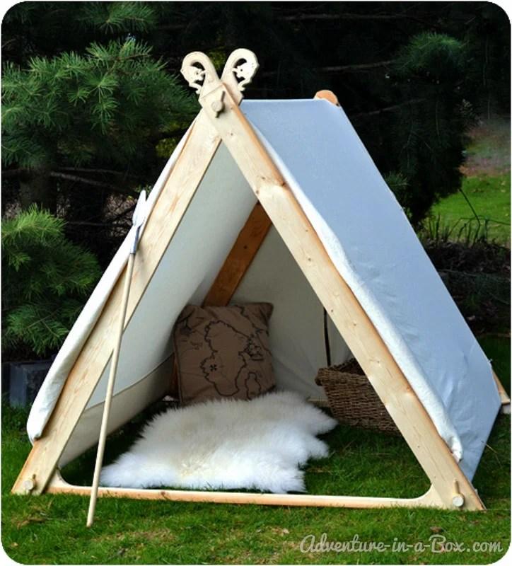 How To Make A Viking Backyard Play Tent