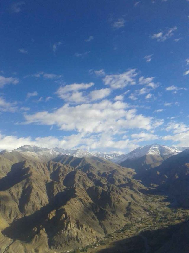 Adventure Pulse Mt Stok Kangri Trek Image of Mountain Peak