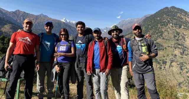 Sunderdhunga valley, Team Adventure-Pulse