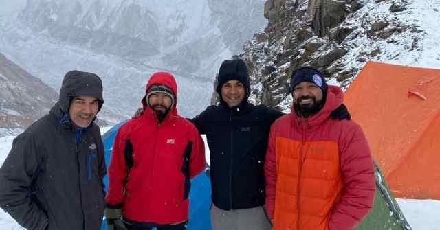 Expedition Report Adventure Pulse Samir, Vikas, Sauraj and Prakash at ABC