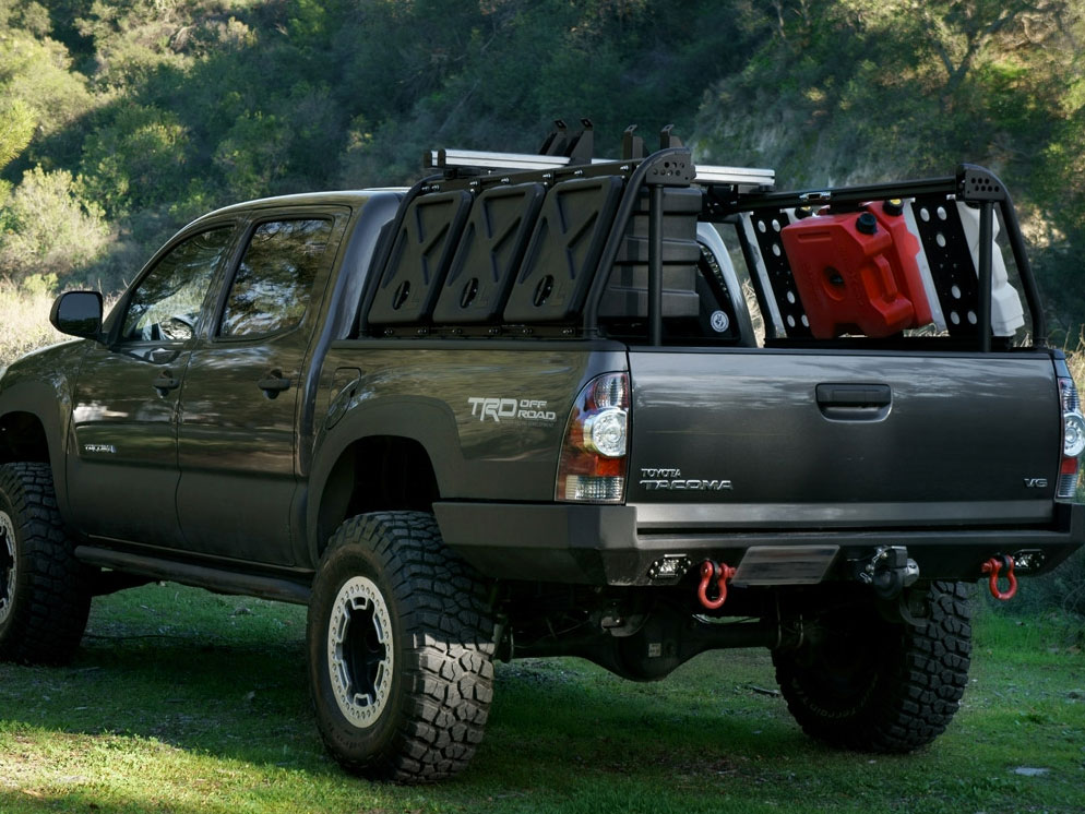 leitner designs active cargo system toyota tacoma short bed