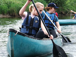 adventure activities, wales, open canoeing