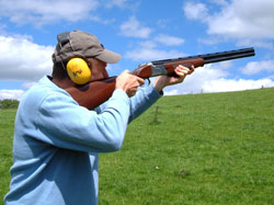 adventure activities, wales, clay pigeon shooting