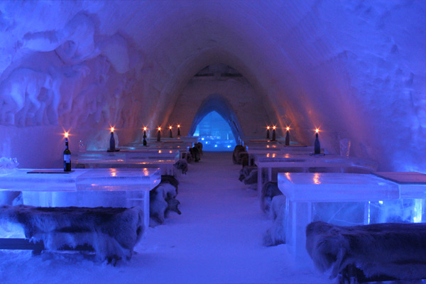 The Ice Restaurant at Snow Village