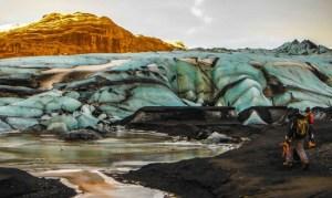 Exploring Glaciers in Iceland