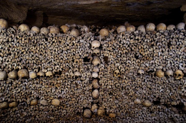 Spooky Vacations - Paris Catacombs