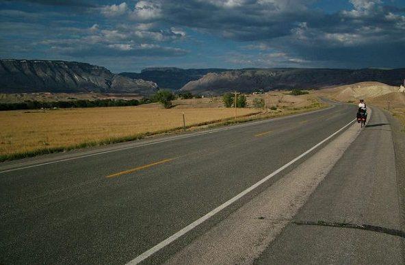 Transamerica trail biking