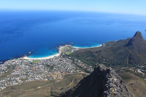 The view from Lion's Head