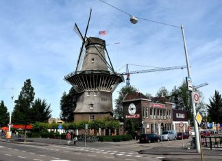 Visit the famous De Gooyer Windmill