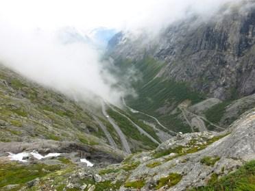 Den berömda Trollstigen