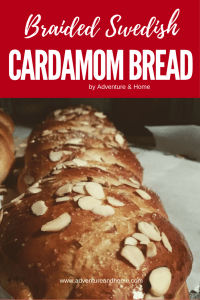 Holiday Traditions that are extra sweet! Learn to make this Swedish Cardamom Bread to make your Christmas Morning EXTRA SWEET! Save to bake now or later!