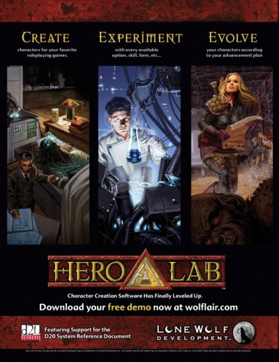 PF Hero Lab