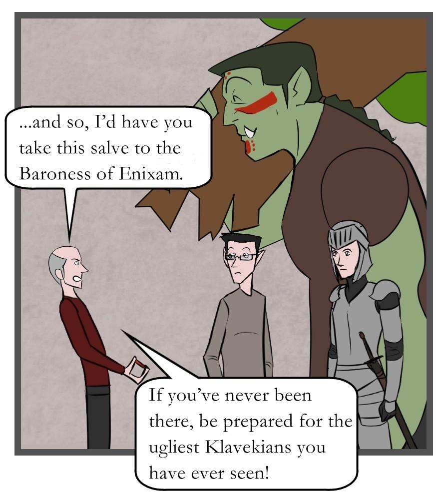 Adventurer's Weekly #8 - Panel One