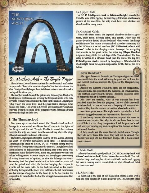 5E Shattered Heart Adventure Path #3: Breath of the Goddess