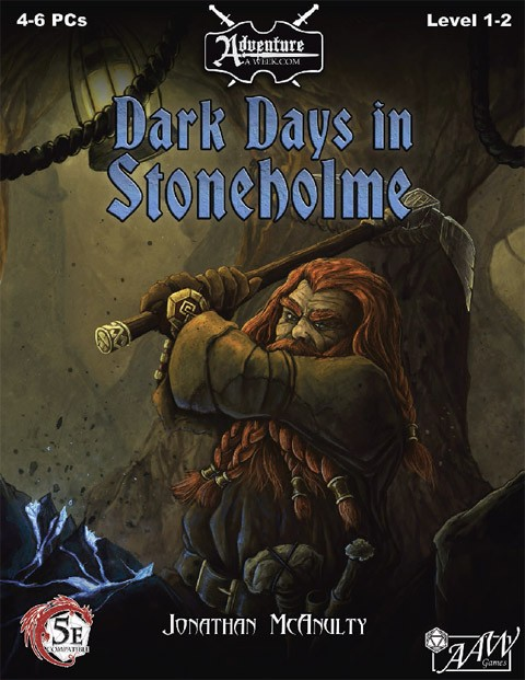 Cover of U01: Dark Days in Stoneholme (Fantasy Grounds)