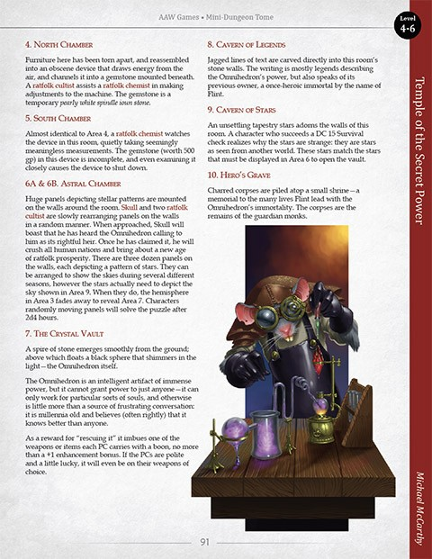 Mini-Dungeon Tome (Pathfinder 1e PDF)