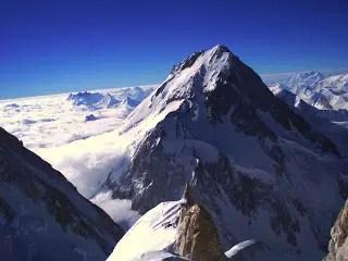 The Summit of Gasherbrum I