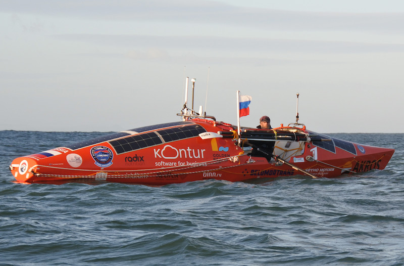 Fedor Konyukhov Passes 100 Days in the Southern Ocean — The Adventure Blog