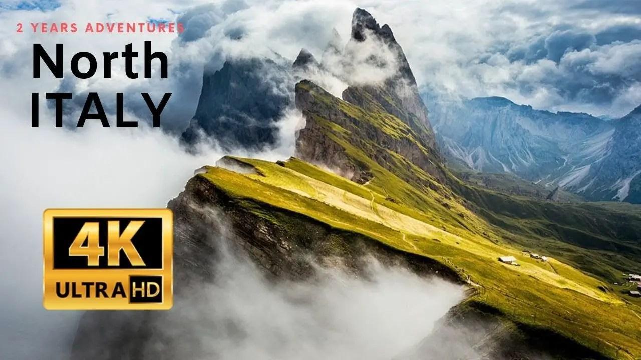 Video: Italy's Breathtaking Dolomites in 4K