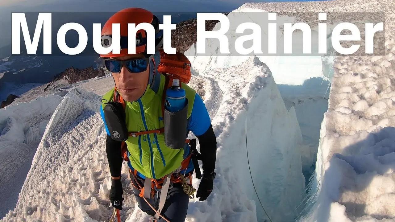 Video: Climbing Mt. Rainier in a Single Push