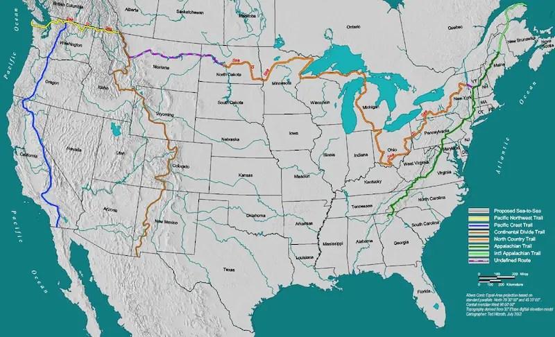 Push Beyond 2020 A Group Of Thru Hikers Prepares For Great Western Loop The Adventure Blog