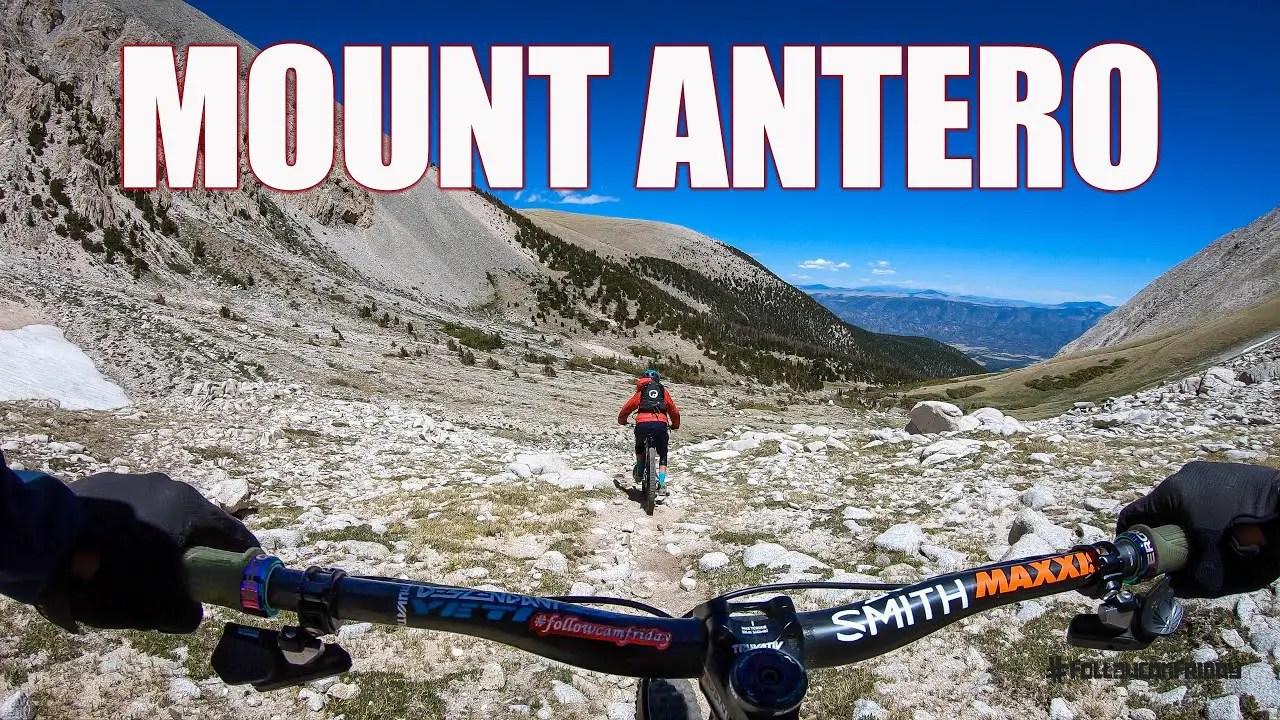 Video: Mountain Biking Mount Antero in Colorado — The Adventure Blog