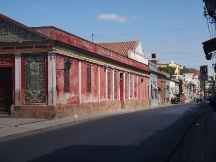 This was fitting in nicely with my mental image of South American street architecture!