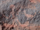 I'm thinking that all of these rock paintings were aliens...Seriously-look at them!!