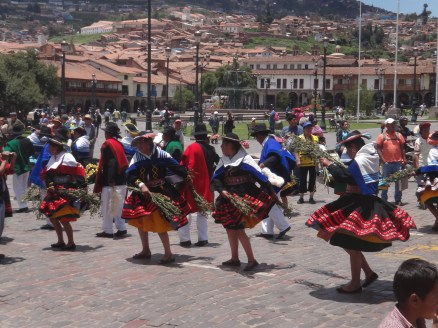 Just your average Sunday afternoon in Cuzco