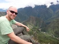 The top of Machu Picchu Mountain