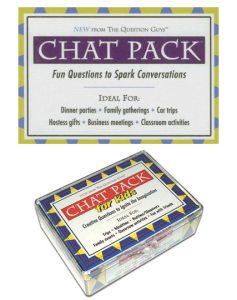 Travel Buddy Gift Ideas - Chat Packs Question Cards